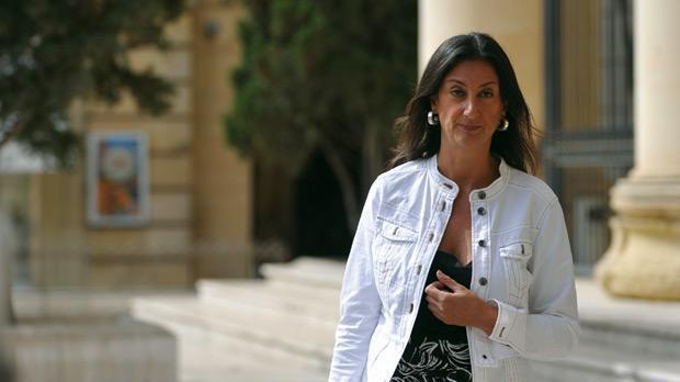 Cazul jurnalistei asasinate în Malta: Opt persoane suspectate, reţinute. Toate au cazier