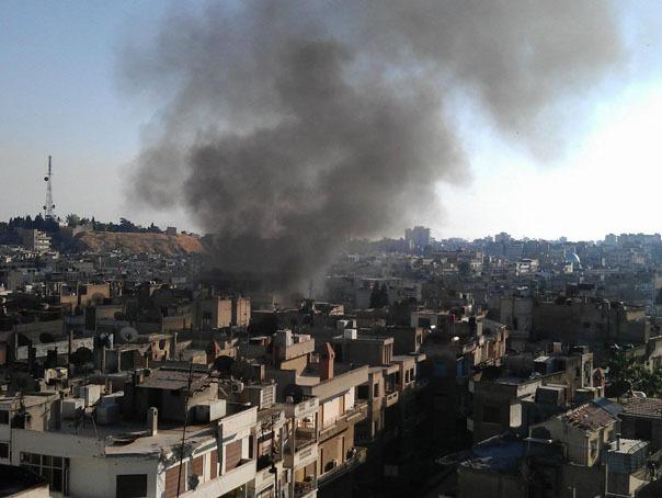 Mai multe victime în urma exploziei unei bombe într-un autobuz din oraşul sirian Homs