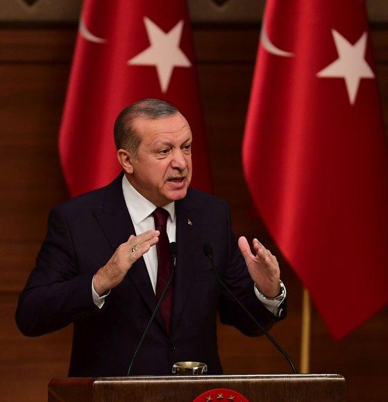Imaginea articolului Recep Tayyip Erdogan denunţă decizia ilegală a lui Donald Trump privind Ierusalimul
