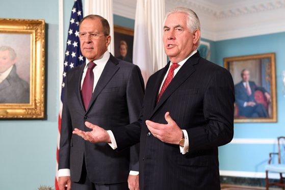 Imaginea articolului Rex Tillerson şi Serghei Lavrov au discutat despre problemele din Siria, Ucraina şi Coreea de Nord