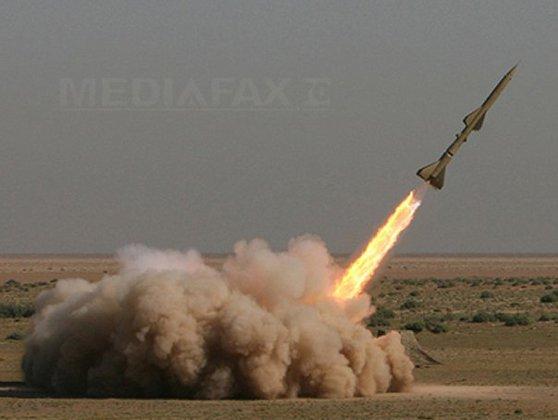 """Imaginea articolului ALERTĂ în Israel: Două rachete lansate din Fâşia Gaza. Una a fost interceptată de sistemul antibalistic Domul de Fier/ Liderul Hamas: """"Cine crede că noi ne vom mulţumi doar cu protestele visează..."""""""