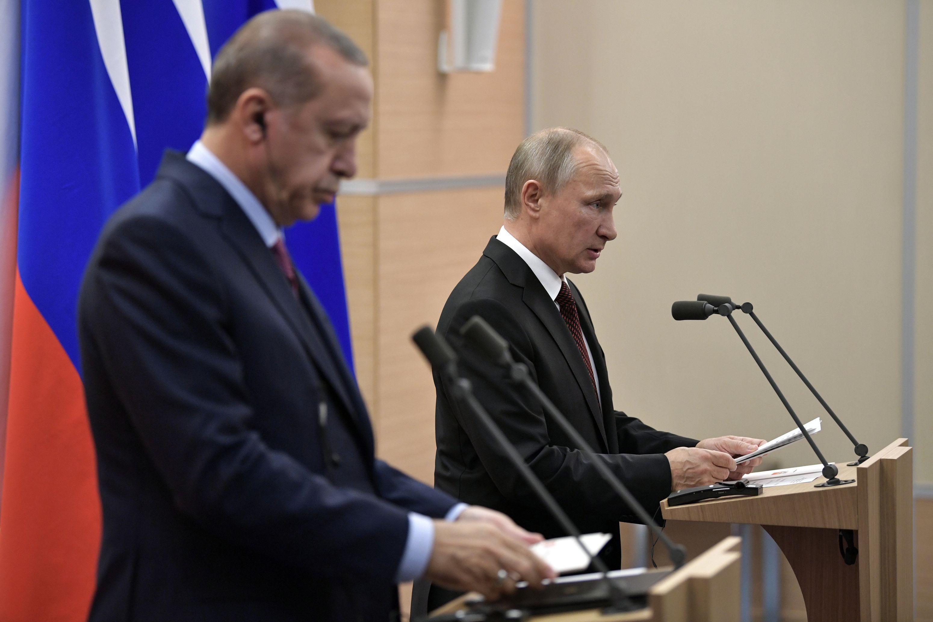 Putin va efectua o vizită oficială în Turcia, urmând să discute cu Erdogan problema Ierusalimului