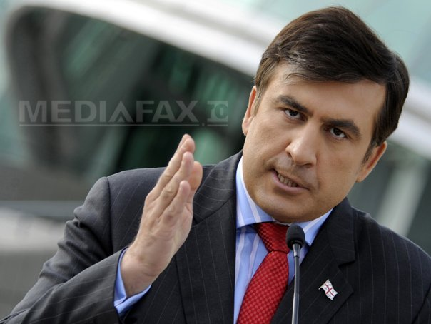 Mihail Saakaşvili a fost reţinut de către forţele de securitate ucrainene