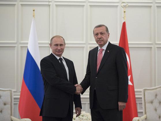 Imaginea articolului Putin şi Erdogan au convenit că decizia lui Trump privind Ierusalimul afectează situaţia în regiune