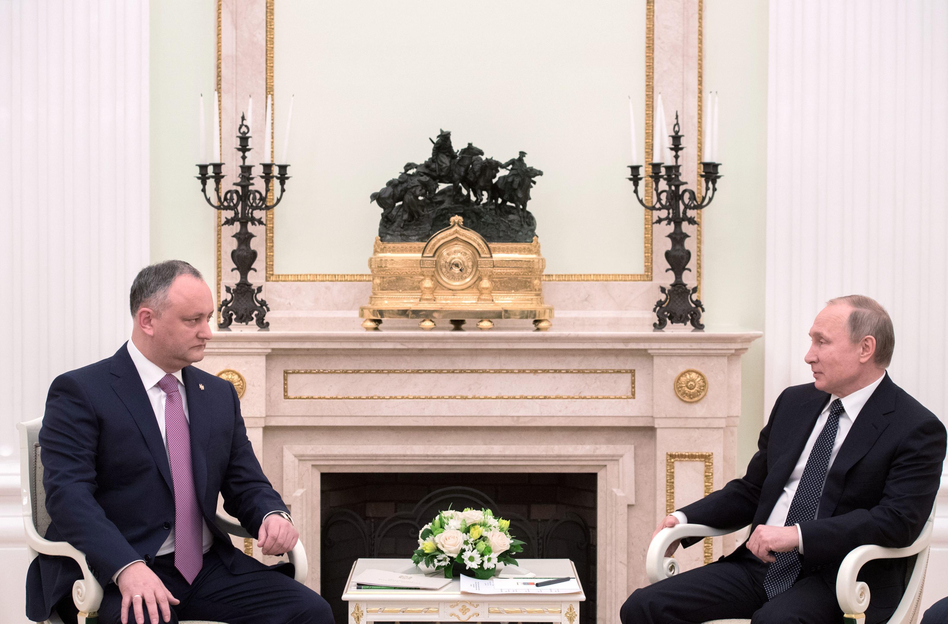 Igor Dodon va efectua o nouă vizită oficială în Rusia