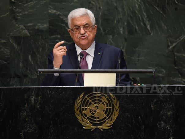 Mahmud Abbas anunţă că va cere anularea statutului de membru al ONU al Israelului