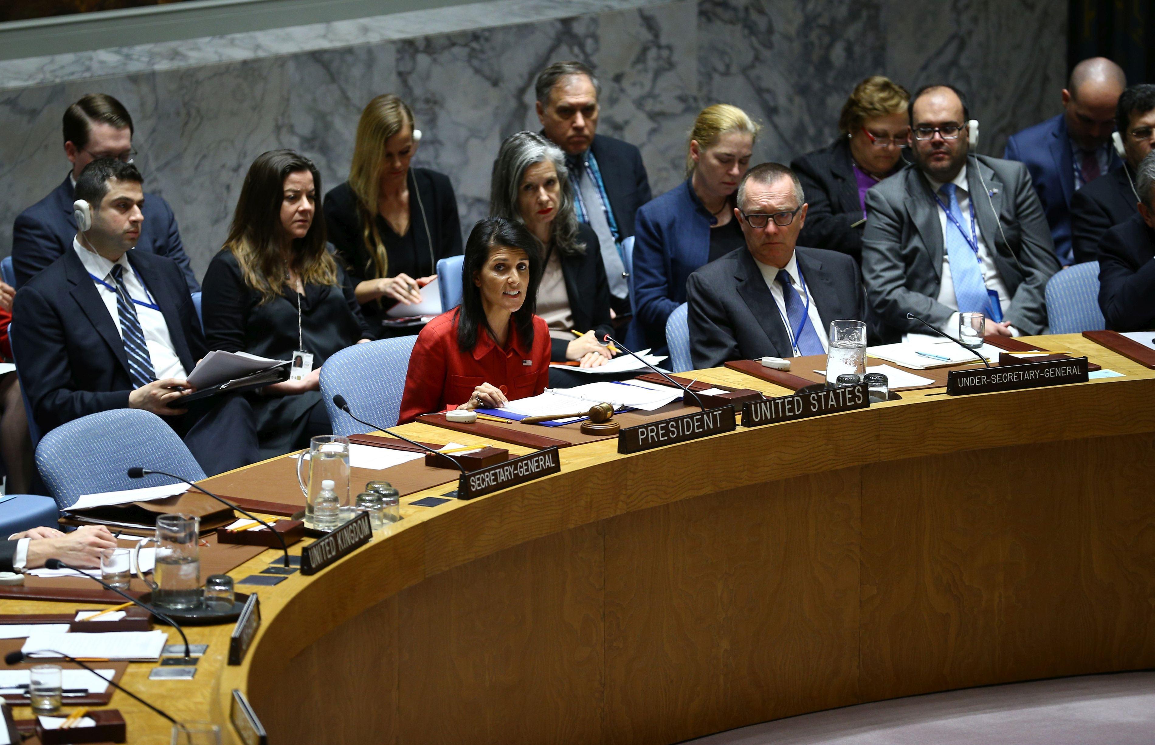 Nikki Haley susţine că va prezenta dovezi incontestabile că Iranul încalcă rezoluţiile ONU