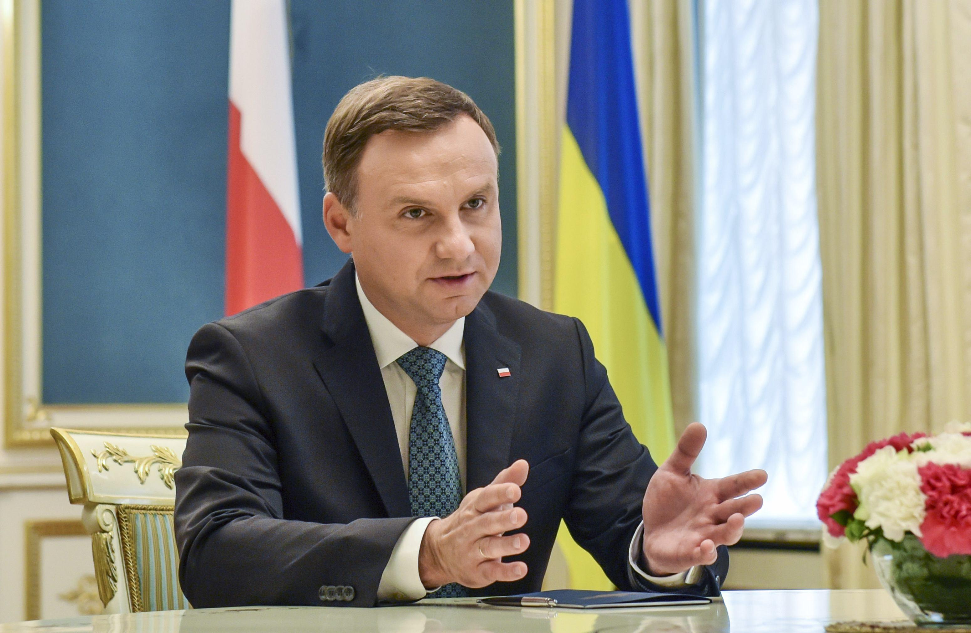 Andrzej Duda acuză liderii Uniunii Europene că `mint` când afirmă că reforma justiţiei afectează statul de drept