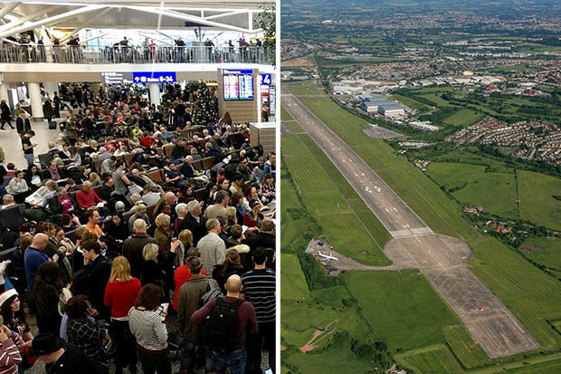 INCIDENT AVIATIC: Un avion de pasageri a derapat şi a ieşit de pe pistă, pe un aeroport din Marea Britanie/ Zeci de curse au avut întârzieri | FOTO, VIDEO