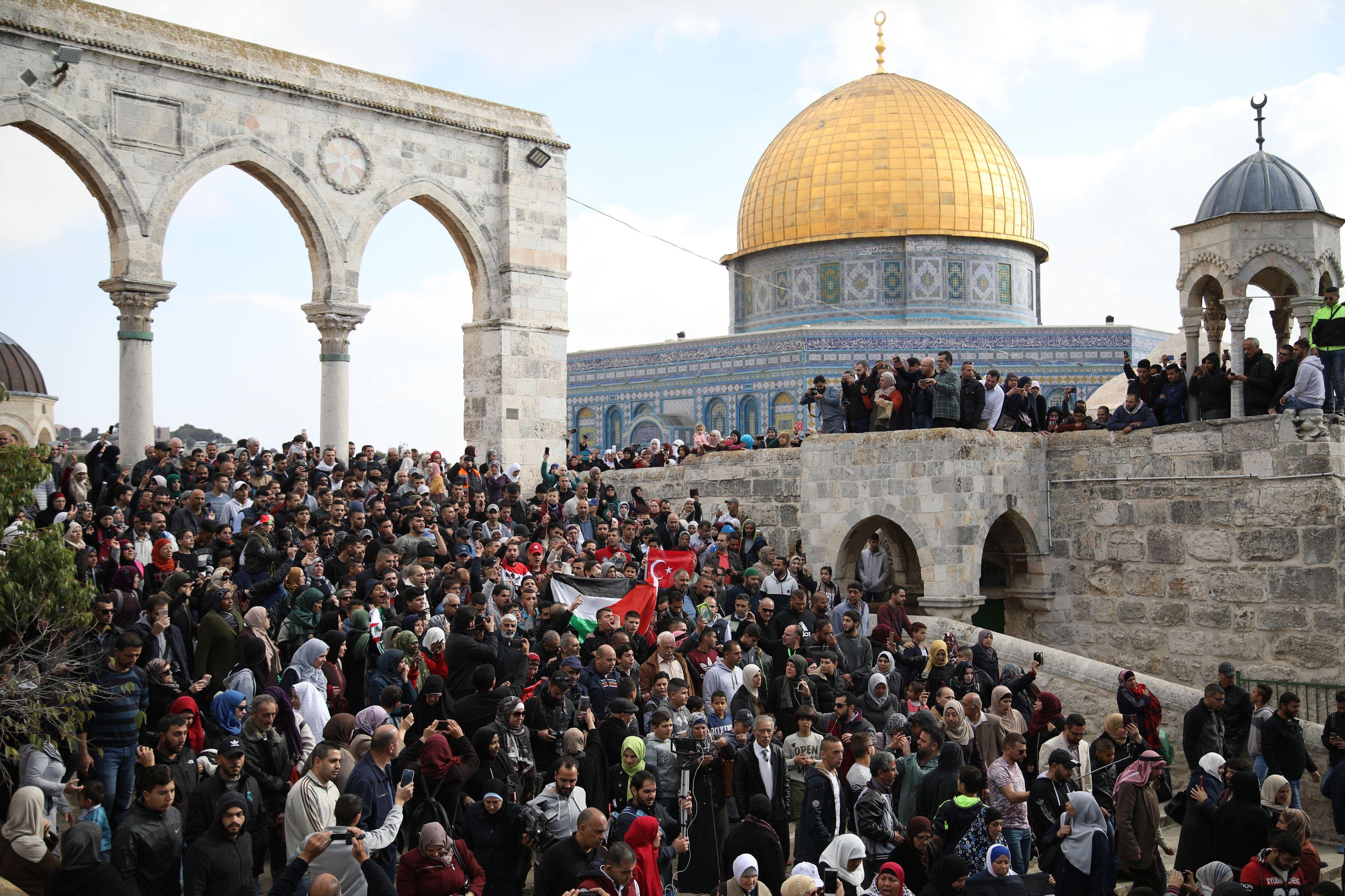 Autorităţile israeliene au eliberat trei turci reţinuţi în timpul protestelor de la Ierusalim