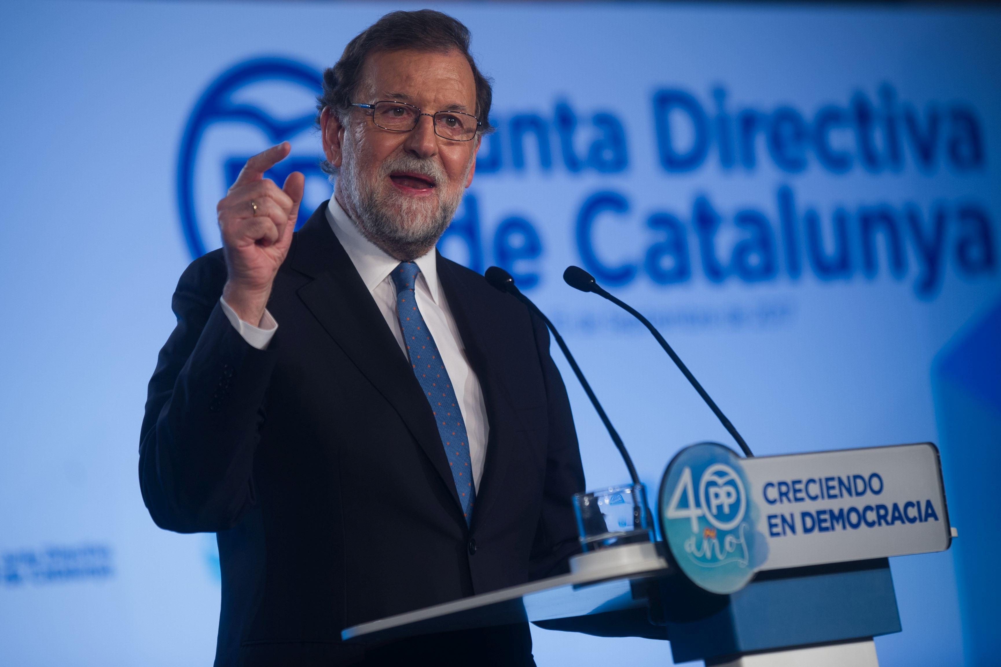 Premierul Spaniei doreşte un calendar exact de acţiuni pentru noul Parlament al Cataloniei