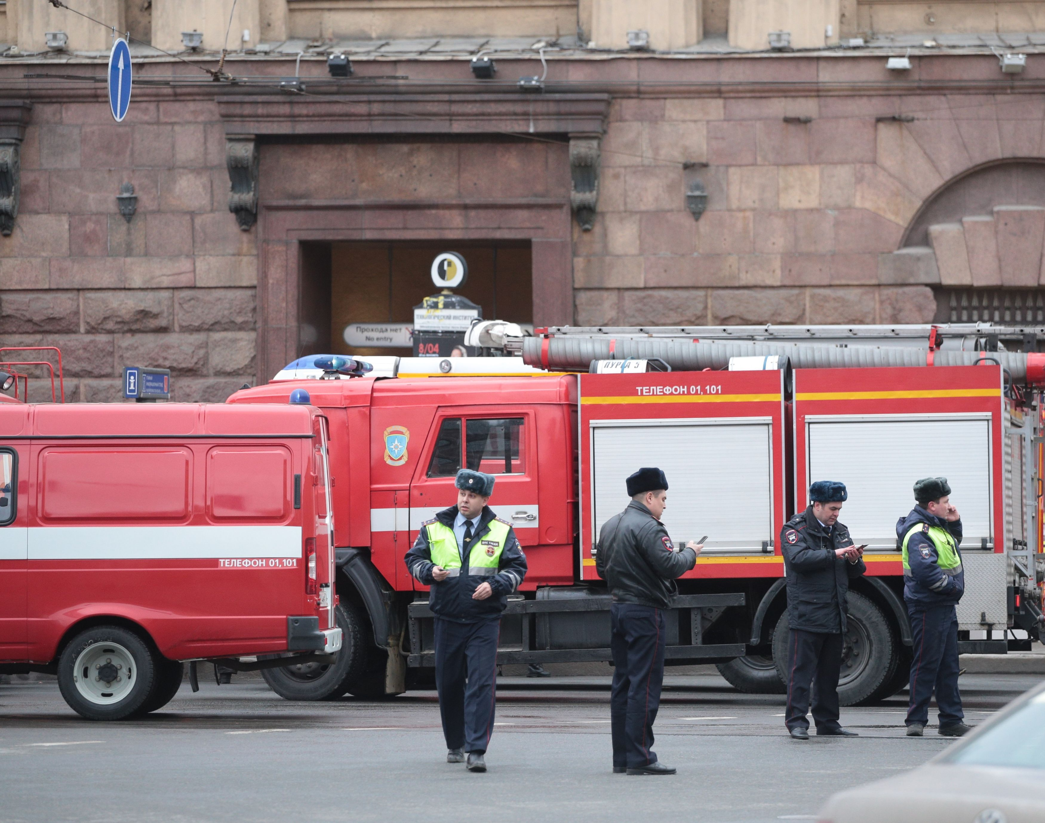 Doi islamişti acuzaţi de comiterea atentatului din Sankt-Petersburg au fost arestaţi de Serviciul de Securitate din Rusia