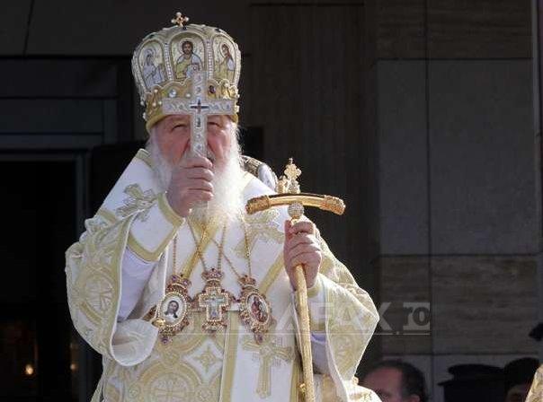Patriarhul Chiril al Moscovei îndeamnă cetăţenii ruşi să voteze în scrutinul prezidenţial din martie
