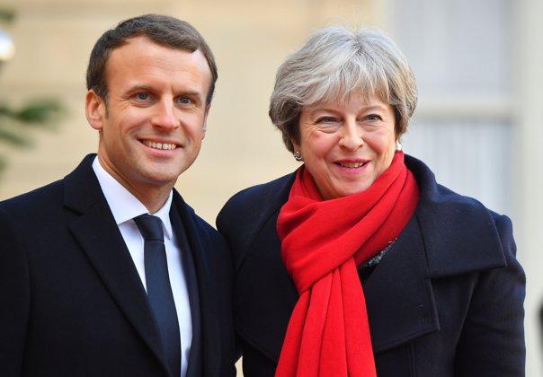 Imaginea articolului Premierul Marii Britanii şi preşedintele Franţei au încheiat un nou acord privind securitatea frontierei comune