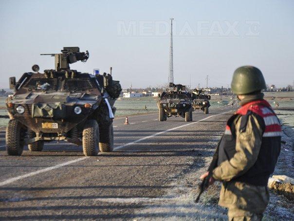Turcia a lansat noi atacuri asupra kurzilor din nordul Siriei