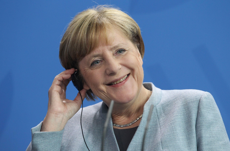Angela Merkel se declară optimistă în privinţa formării unei coaliţii guvernamentale cu SPD, înaintea congresului social-democraţilor germani