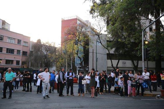 Imaginea articolului Cutremur cu magnitudinea 5,9, produs în sud-vestul Mexicului. Seismul s-a resimţit şi în capitala Ciudad de Mexico