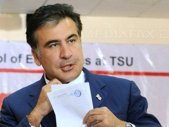 Imaginea articolului Mihail Saakaşvili, interdicţie de intrare în Ucraina pentru o perioadă de trei ani/ Mesajul fostului preşedinte georgian