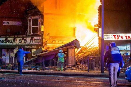 Imaginea articolului Cel puţin şase persoane au fost rănite în urma unei explozii ce a avut loc în Leicester | VIDEO