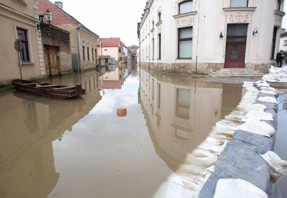 Imaginea articolului Mai multe regiuni din Croaţia, puternic afectate de inundaţii