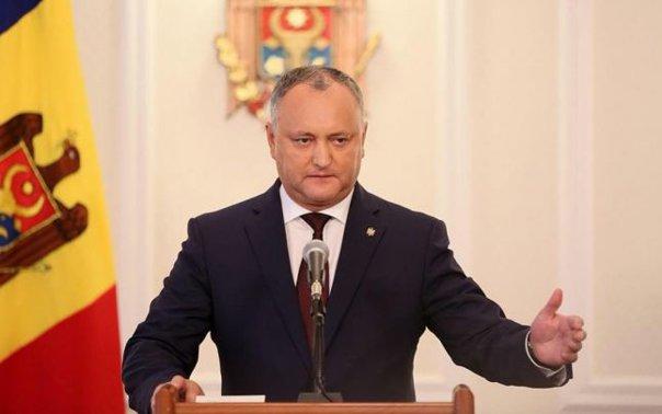 Imaginea articolului Igor Dodon: Există riscul ca duşmanul numărul unu al Republicii Moldova să fie românii