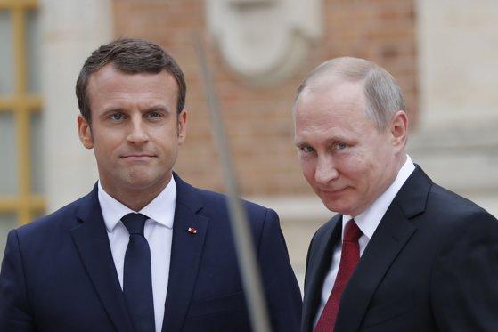 Imaginea articolului Putin i-a transmis lui Macron că nu există probe privind implicarea Rusiei în atacul asupra fostului spion rus Skripal