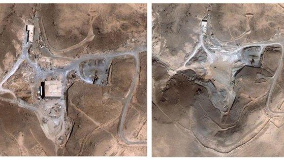 Imaginea articolului Armata israeliană recunoaşte distrugerea unui reactor nuclear din Siria în 2007