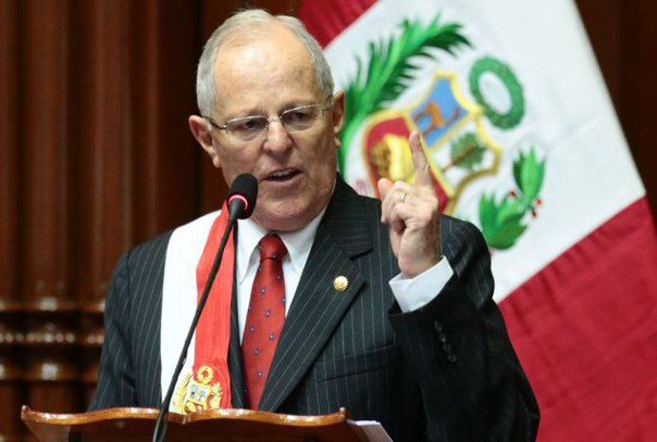 Imaginea articolului Preşedintele statului Peru, Pedro Pablo Kuczynski, a demisionat