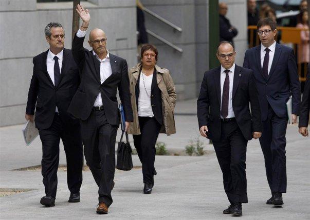 Imaginea articolului Candidatul pentru funcţia de premier al Cataloniei a fost arestat, alături de alţi patru lideri separatişti