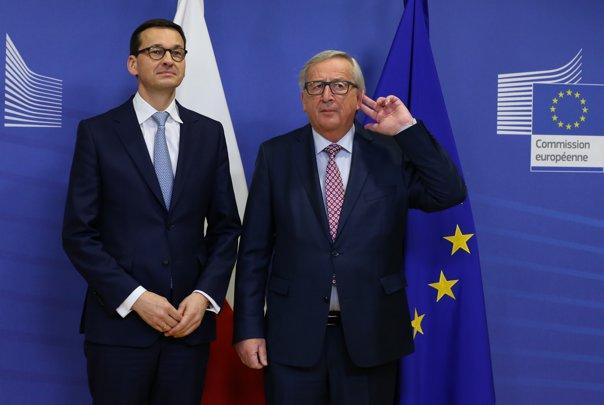 Imaginea articolului Premierul Poloniei anunţă anumite concesii faţă de UE privind reforma sistemului judiciar