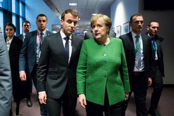 Imaginea articolului Emmanuel Macron şi Angela Merkel cer reformarea UE, pentru a face faţă provocărilor mondiale