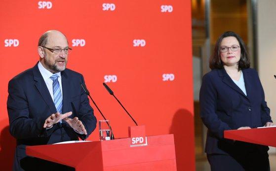 Imaginea articolului Andrea Nahles, prima femeie aleasă în funcţia de preşedinte al Partidului Social-Democrat german