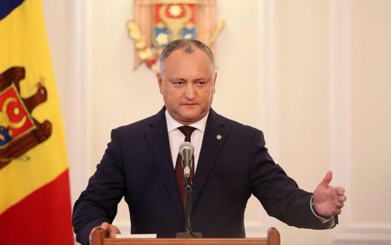 """Imaginea articolului Igor Dodon îşi exprimă recunoştinţa faţă de activitatea """"pacificatoare"""" a trupelor ruse din Transnistria"""