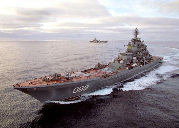Imaginea articolului Vladimir Putin: Nave ruse dotate cu rachete de croazieră vor rămâne PERMANENT în zona mediteraneană pentru a contracara ameninţarea teroristă din Siria
