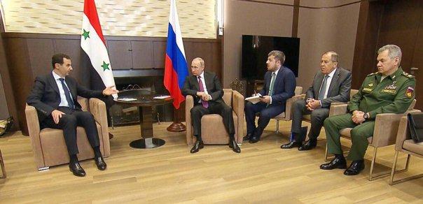 Imaginea articolului Bashar al-Assad a efectuat o vizită în Rusia, unde s-a întâlnit cu Vladimir Putin