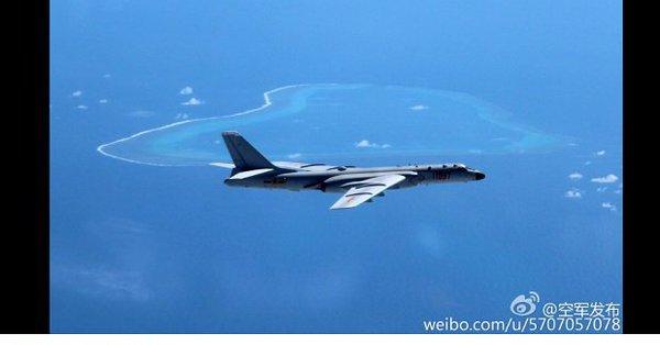 Imaginea articolului Bombardiere ale forţelor aeriene chineze, în Marea Chinei de Sud