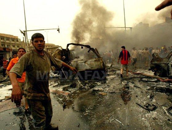 Imaginea articolului Cel puţin patru oameni au murit şi alţi 15 au fost răniţi în urma unui atac comis în Bagdad
