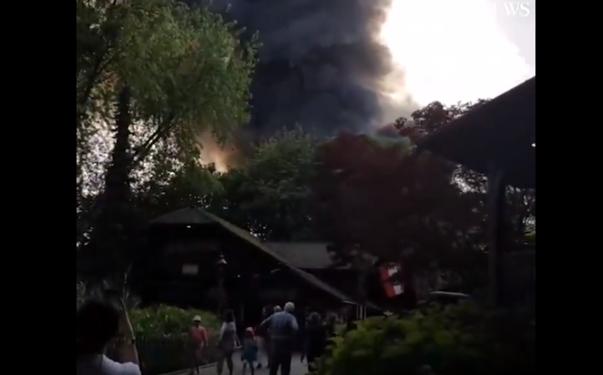 Imaginea articolului INCENDIU devastator în al doilea cel mai popular PARC de distracţii din Europa, după Disneyland Paris. Răniţi, printre cele 25.000 de persoane evacuate - VIDEO