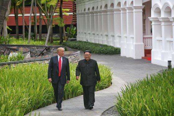 Imaginea articolului Denuclearizarea Peninsulei Coreene. Trei state au afirmat că vor lucra în comun pentru respectarea înţelegerii Trump-Kim