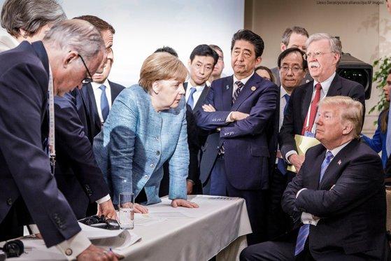 Imaginea articolului Donald Trump critică din nou politicile Angelei Merkel în materie de imigraţie