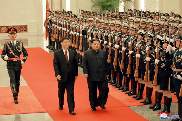 Imaginea articolului Kim Jong-un efectuează o vizită oficială de două zile în China
