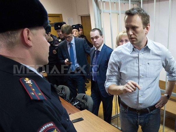 Imaginea articolului Liderul opoziţiei ruse, Aleksei Navalnîi, cere organizarea unor noi proteste