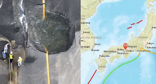 Imaginea articolului CUTREMURUL din Japonia: Bilanţul a ajuns la cinci morţi şi 370 de răniţi/ În regiunea Osaka există riscul producerii unor alunecări de teren