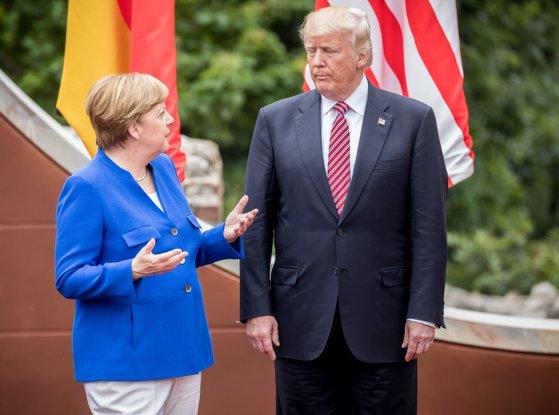 Imaginea articolului Donald Trump acuză Guvernul Angela Merkel că ascunde datele despre infracţionalitate