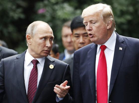 Imaginea articolului După summit-ul cu Kim Jong-un ar putea urma unul cu Putin. Donald Trump şi preşedintele rus s-ar putea întâlni luna viitoare