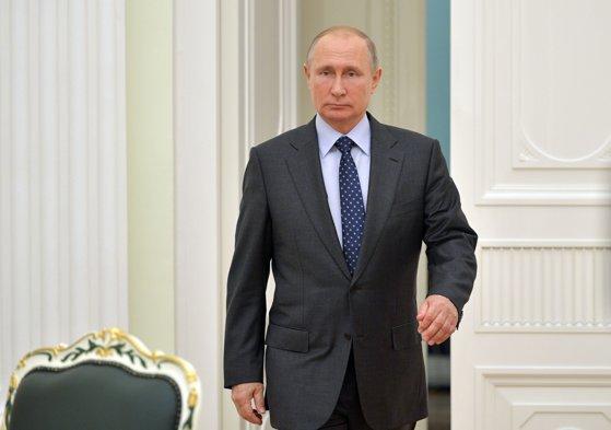 Imaginea articolului Putin susţine că Rusia a fost vizată de aproape 25 de milioane de atacuri cibernetice în timpul Campionatului Mondial