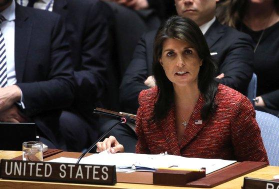 US United Nations Ambassador accuses Russia of violating international sanctions against North Korea