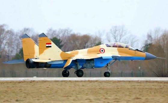 Imaginea articolului Un avion militar MIG-29 s-a prăbuşit în Egipt