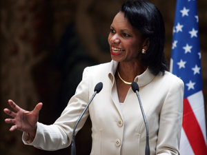 Secretarul de Stat american Condoleezza Rice (Imagine: Mediafax Foto/AFP)