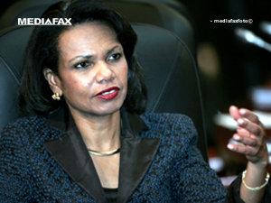 Condoleezza Rice va rosti joi un